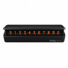 Временная карта парковки Xiaomi BCASE TITA Temporary Parking Card (black)